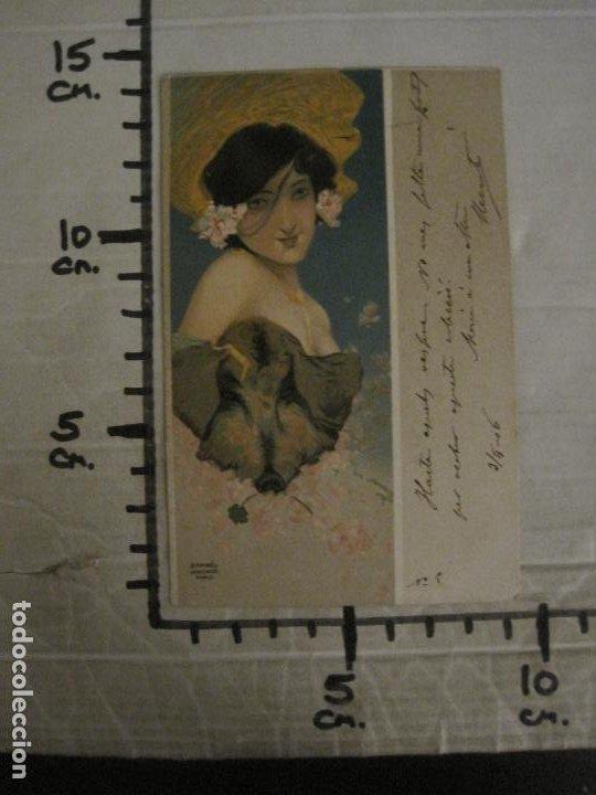 Postales: POSTAL ANTIGUA ILUSTRADA POR RAPHAEL KIRCHNER-REVERSO SIN DIVIDIR-VER FOTOS-(64.433) - Foto 6 - 183702541