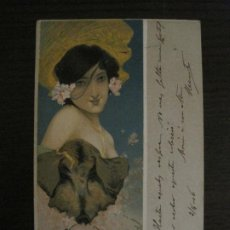 Postales: POSTAL ANTIGUA ILUSTRADA POR RAPHAEL KIRCHNER-REVERSO SIN DIVIDIR-VER FOTOS-(64.433). Lote 183702541