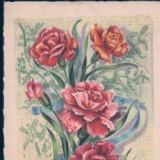 Postales: POSTAL BONNE FETE - DIBUJO RAMO DE FLORES - MD PARIS. Lote 183783246
