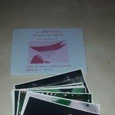Postales: 12 TARGETAS POSTALES DE DISEÑO / SERIE ABS-FOTO / FOTOGRAFIES DEL ABSURD / ALBERT TELESE /. Lote 183819908