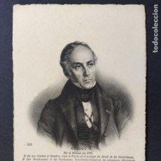 Postales: GUIZOT-HISTORIADOR Y POLITICO FRANCES-ND PHOT 464-POSTAL ANTIGUA-(64.701). Lote 184140707