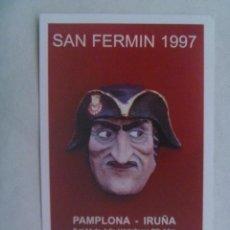 Postales: POSTAL DE RADIOAFICIONADOS DE NAVARRA : SAN FERMIN 1997 , PAMPLONA. Lote 184159843