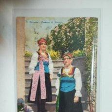 Postales: TARJETA POSTAL. IN VALSESIA. COSTUME DI FERVENTO. ED.ZANFA. Lote 243123945