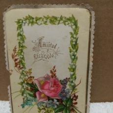 Postales: POSTAL ANTIGUA TROQUELADA. Lote 187462406