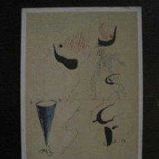 Postales: SALVADOR DALI-POSTAL ENCUADERNACION INEDITA EN PERGAMINO EN 1928-VER FOTOS-(65.729). Lote 189781930