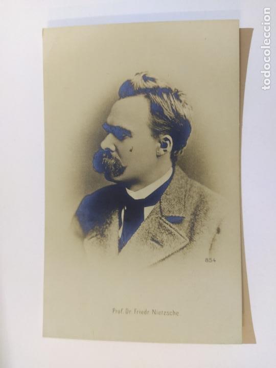Postales: FRIEDRICH NIETZSCHE-POSTAL FOTOGRAFICA ANTIGUA-(65.945) - Foto 2 - 190290966