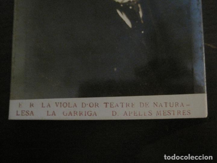 Postales: APELES MESTRES-LA VIOLA DOR-LA GARRIGA-POSTAL FOTOGRAFICA ANTIGUA-VER FOTOS-(66.169) - Foto 2 - 190768101