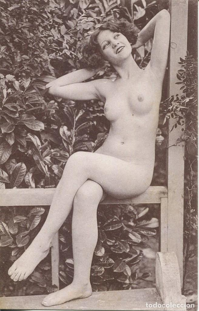 Postales: 2 -TARJETAS POSTALES-DESNUDO MUJER-AÑOS 20- - REPROD. - Foto 2 - 191240562