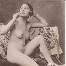 Postales: 2 -TARJETAS POSTALES-DESNUDO MUJER-AÑOS 20- - REPROD.. Lote 191240611