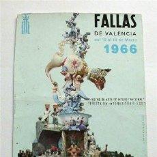 Postales: FALLAS DE VALENCIA. AÑO 1966. Lote 191311983