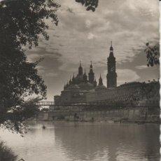 Cartes Postales: LOTE V-POSTAL ZARAGOZA SELLO. Lote 191510035