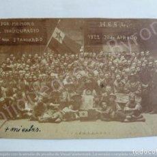 Postales: POSTAL CONGRESO DE ESPERANTO. AÑO 1922. Lote 191511507