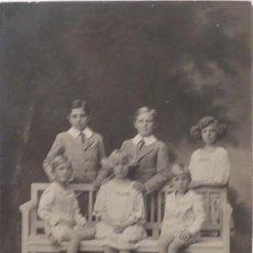 Postales: P-9823. FAMILIA REAL ESPAÑOLA. LOS SEIS HIJOS DE ALFONSO XIII. POSTAL FRENZEN. SIN CIRCULAR. Lote 191657943