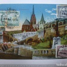 Postales: POSTAL ESPERANTO. BUDAPEST. HUNGRÍA. Lote 192490471