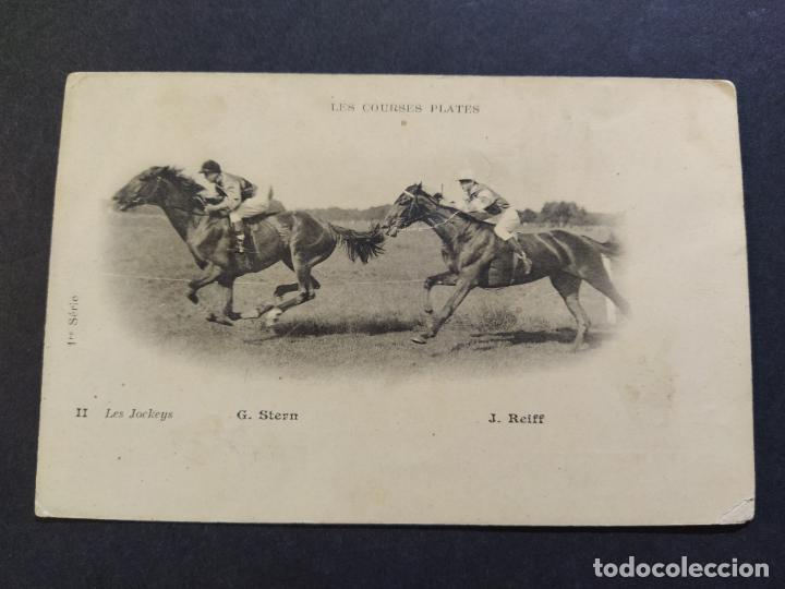 Postales: CARRERAS DE CABALLOS-G.STERN & J.REIFF-REVERSO SIN DIVIDIR-POSTAL ANTIGUA-(67.670) - Foto 2 - 194075436