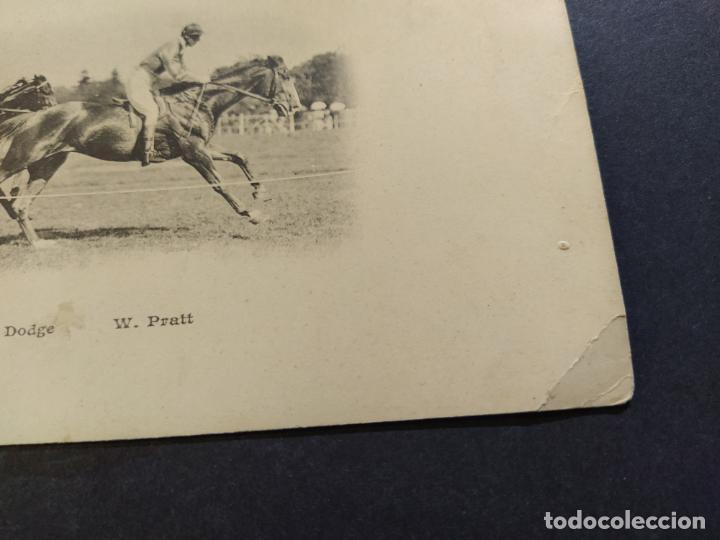 Postales: CARRERAS DE CABALLOS-A.E.DODGE & W.PRATT-REVERSO SIN DIVIDIR-POSTAL ANTIGUA-(67.671) - Foto 4 - 194075487