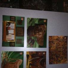 Postales: POSTALES MUSEO DE LA PIEL IGUALADA. Lote 194128928