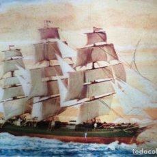 Postales: 3D PRECIOSA POSTAL DE BARCO . Lote 194360602