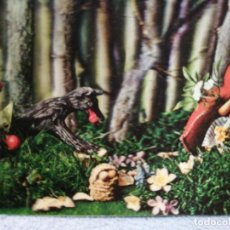 Postales: 3D PRECIOSA POSTAL DE CAPERUCITA . Lote 194360611