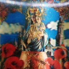 Postales: 3D PRECIOSA POSTAL DE VIRGEN DEL PILAR . Lote 194360625