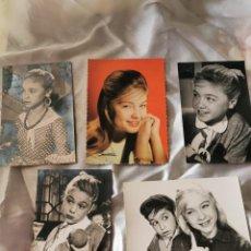 Postales: 5 POSTALES DE MARISOL AÑOS 60. Lote 194600671