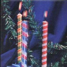 Postales: POSTAL EN 3D ( TRIDIMENSIONAL ) - AÑOS 60/70 - VELAS NAVIDEÑAS. Lote 194717356