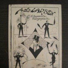 Postales: ADOLARSEN-MALABARISTA-ELEGANTE FANGSPIELE-POSTAL ANTIGUA-VER FOTOS-(67.929). Lote 194877252