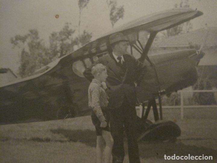 Postales: AVIONETA-POSTAL FOTOGRAFICA ANTIGUA DE AVION-(67.931) - Foto 2 - 194877773