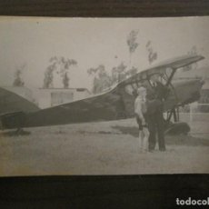 Postales: AVIONETA-POSTAL FOTOGRAFICA ANTIGUA DE AVION-(67.931). Lote 194877773