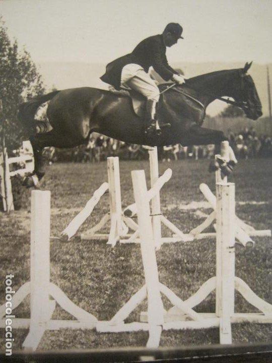Postales: HIPICA-EQUITACION-CABALLO-POSTAL FOTOGRAFICA ANTIGUA-(67.938) - Foto 2 - 194879177
