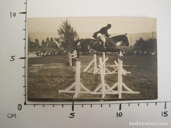 Postales: HIPICA-EQUITACION-CABALLO-POSTAL FOTOGRAFICA ANTIGUA-(67.938) - Foto 4 - 194879177