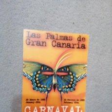 Postales: CARNAVAL 1999 LAS PALMAS DE GRAN CANARIA. Lote 194895175