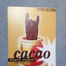 Postales: CACAO DAGOLL DAGOM. Lote 194895248