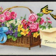 Postales: FELICIDADES. POSTAL 2356/F IMP. EN ESPAÑA. Lote 194969111