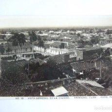 Postales: POSTAL CUBA - TRINIDAD - VISTA GENERAL DE LA CIUDAD - FOTO PACO Nº 19 - ESCRITA SIN CIRCULAR. Lote 195188195