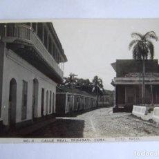 Postales: POSTAL CUBA - TRINIDAD - CALLE REAL - FOTO PACO Nº 3 - ESCRITA SIN CIRCULAR. Lote 195188266