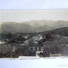 Postales: POSTAL CUBA - TRINIDAD - BARRIO LA BARRANCA - FOTO PACO Nº 26 - ESCRITA SIN CIRCULAR. Lote 195188315