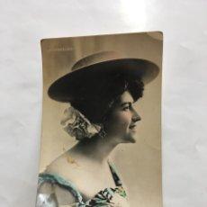 Postales: POSTAL ROMÁNTICA. FORNARINA. ACTRIZ Y CUPLETISTA. H. 1910?.. Lote 195202733