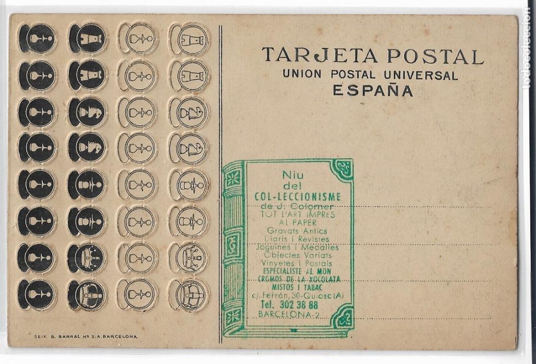 Postales: AJEDREZ - PUBLICIDAD NESFARINA - P30053 - Foto 2 - 195217637