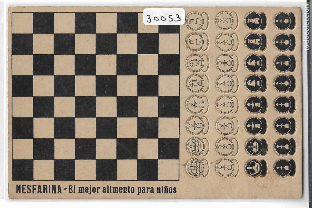 AJEDREZ - PUBLICIDAD NESFARINA - P30053 (Postales - Postales Temáticas - Especiales)
