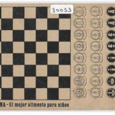 Postales: AJEDREZ - PUBLICIDAD NESFARINA - P30053. Lote 195217637