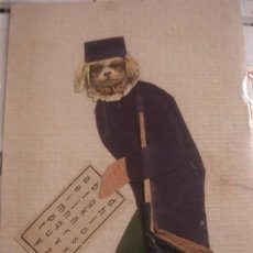 Postales: POSTAL EN TELA - PORTAL DEL COL·LECCIONISTA *****. Lote 195377118