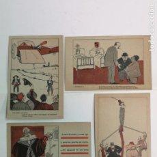 Postales: APA, 4 POSTALES ANTIGUAS DE APA. Lote 195412727