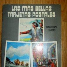 Postales: LAS MÁS BELLAS TARJETAS POSTALES Nº 26 CRISTÓBAL COLÓN GRÁFICAS GUADA PROD COMPACTO 1988. Lote 195432978