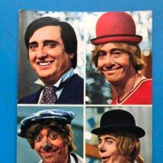 Postales: LOS PAYASOS DE LA TELE - GABI, FOFO, MILIKI Y FOFITO - ED. TARJE-FHER - AÑO 1974. Lote 209612041