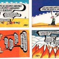 Postales: DIBUJOS HUMORISTICOS FORGES *** COLECCIÓN 12 POTALES *** EDITA SERVIVIO NACIONAL DE LOTERIAS. Lote 197717533