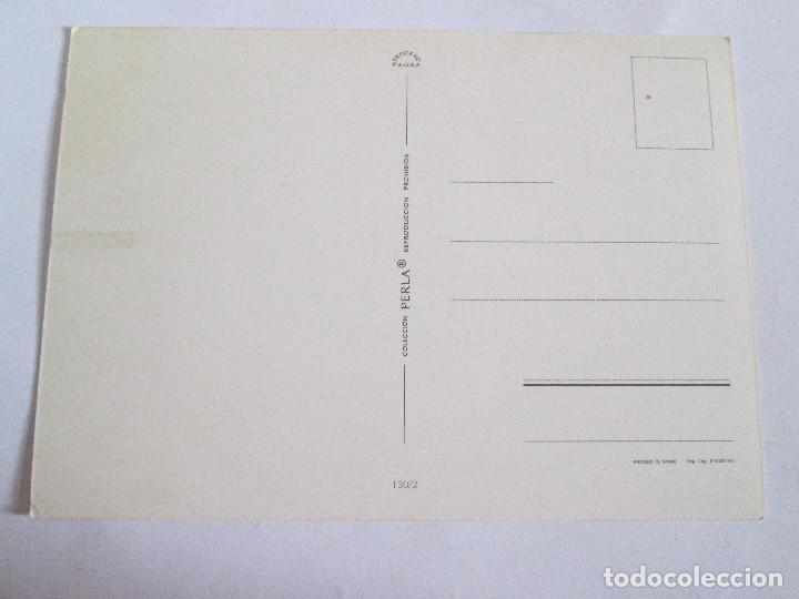 Postales: POSTAL PAREJA ROMANTICA - 1973 - PERLA 130 /2 - Foto 2 - 198140487