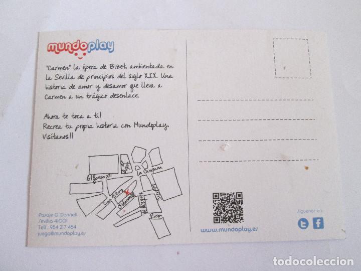 Postales: POSTAL PUBLICIDAD - MUNDO PLAY (PLAYMOBIL) - Foto 2 - 198588375