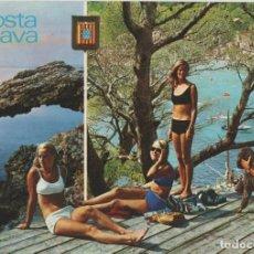 Cartes Postales: LOTE C-POSTAL COSTA BRAVA MUJERES CHICAS. Lote 198603988