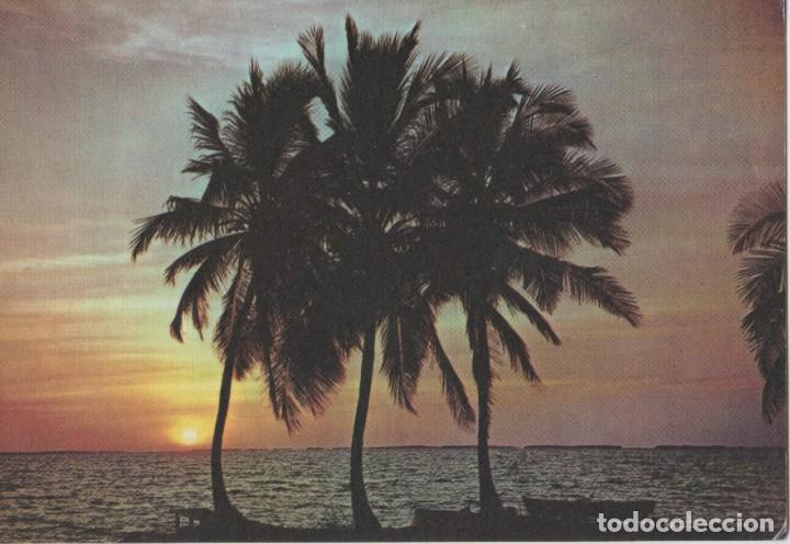 LOTE C- POSTAL CUBA PREFRANQUEADA PLAYA BIBIJAGUA (Postales - Postales Temáticas - Especiales)